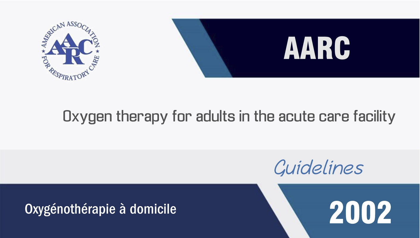 Oxygen therapy for adults in the acute care facility (2002)